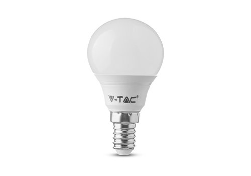 V-TAC LED Lamp met Samsung chip 7 Watt E14 P45 Plastic 6400K