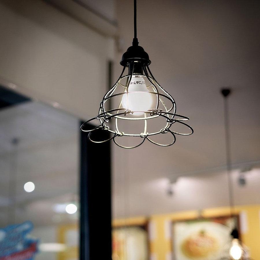 LED Lamp met Samsung chip 7 Watt E14 P45 Plastic 4000K