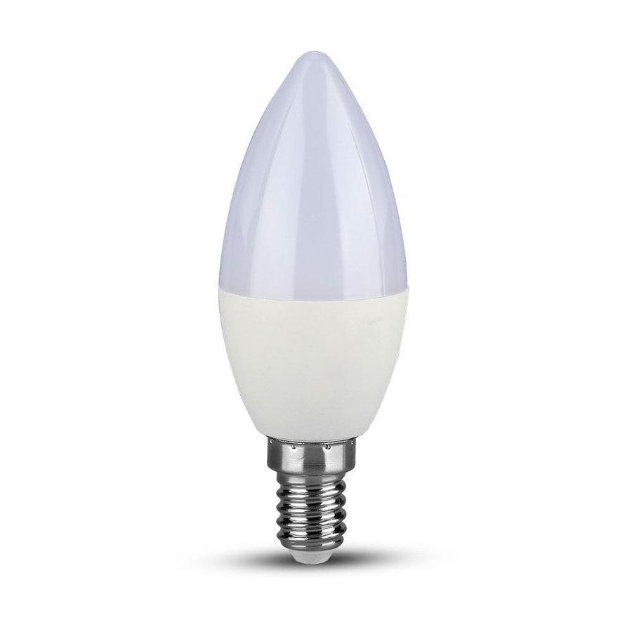 LED Lamp met Samsung chip 7 Watt E14 Plastic 6400K