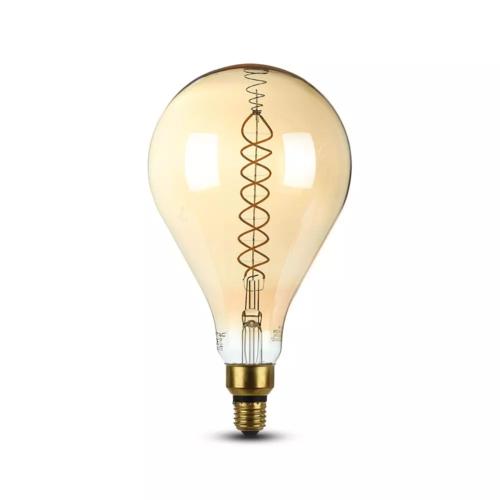 V-TAC LED Filament lamp XXL Bainet 8 Watt E27 2000K dimbaar