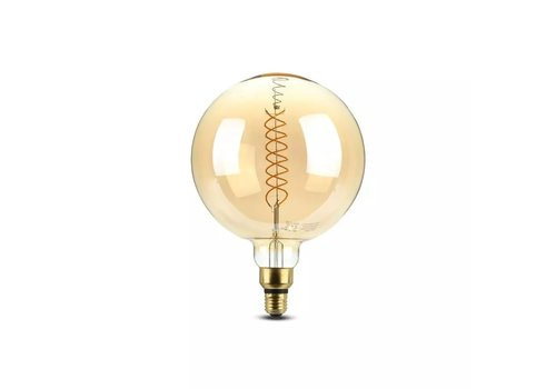 V-TAC LED Bulb with filament 8 Watt E27 2000K dimmable