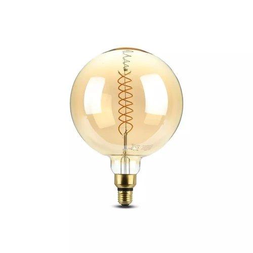 V-TAC LED Filament lamp XXL Loiza 8 Watt gloeidraad 8 Watt E27 2000K dimbaar