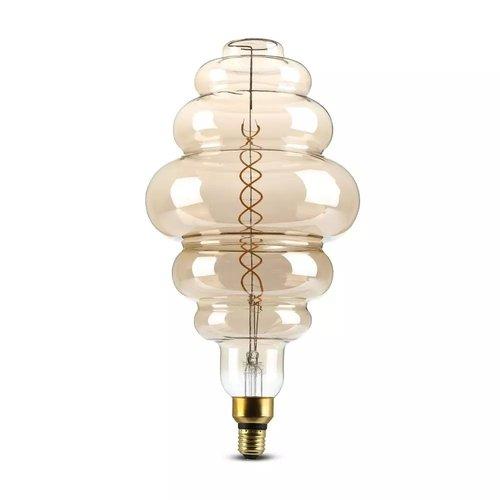 V-TAC LED Filament lamp XXL Paris Dubbele gloeidraad 8 Watt E27 2000K dimbaar