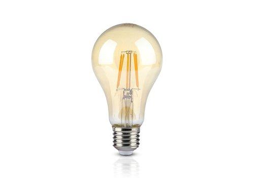 V-TAC LED Lamp Amber glas 10 Watt E27 A67 2200K