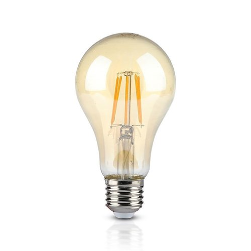 V-TAC LED Filament lamp XL Dao Amber glas 10 Watt E27 A67 2200K