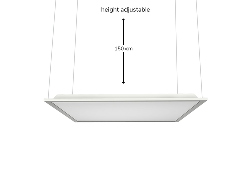 HOFTRONIC™ Suspension kit 60x60 and 30x120 LED Panels (125lm/W)
