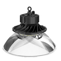 LED High bay 100W IP65 Dimbaar 4000K 160lm/W met 60° reflector Samsung Powered  5 jaar garantie
