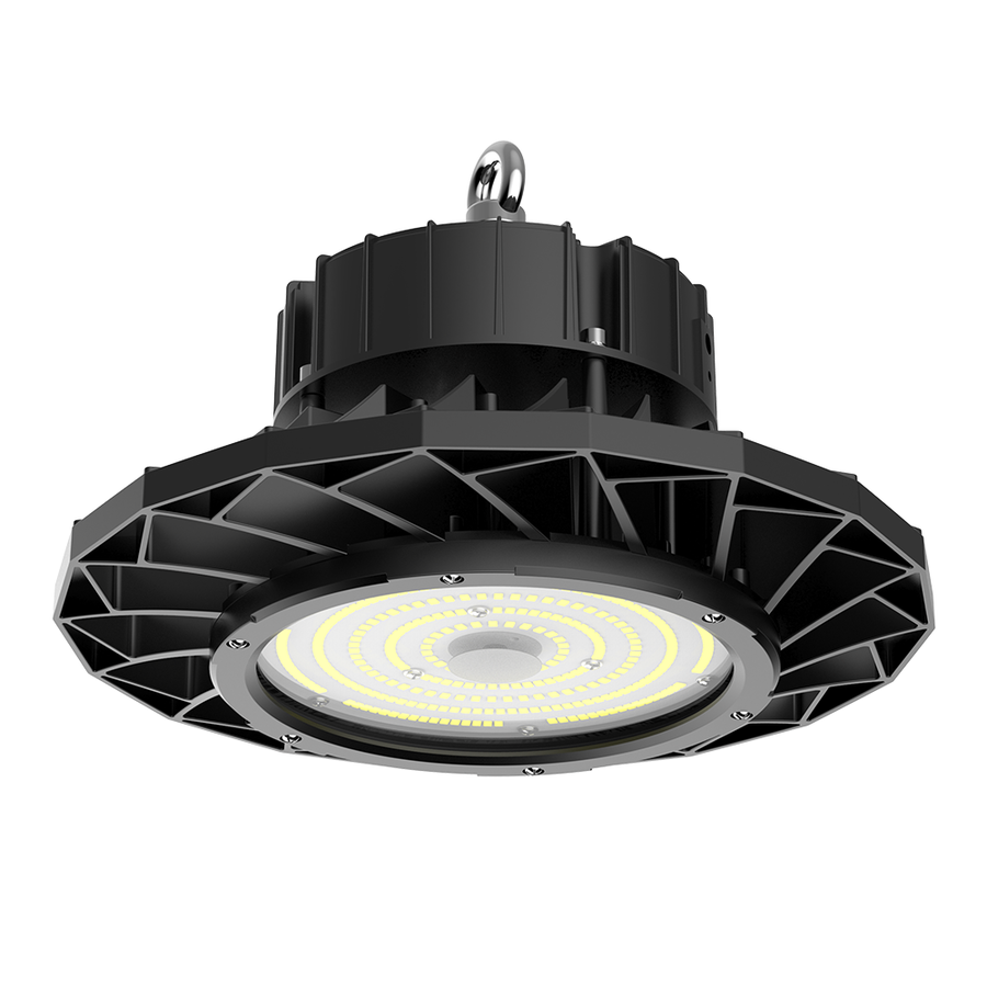 LED High bay 100W IP65 Dimbaar 6400K 160lm/W met 60° reflector Samsung Powered  5 jaar garantie