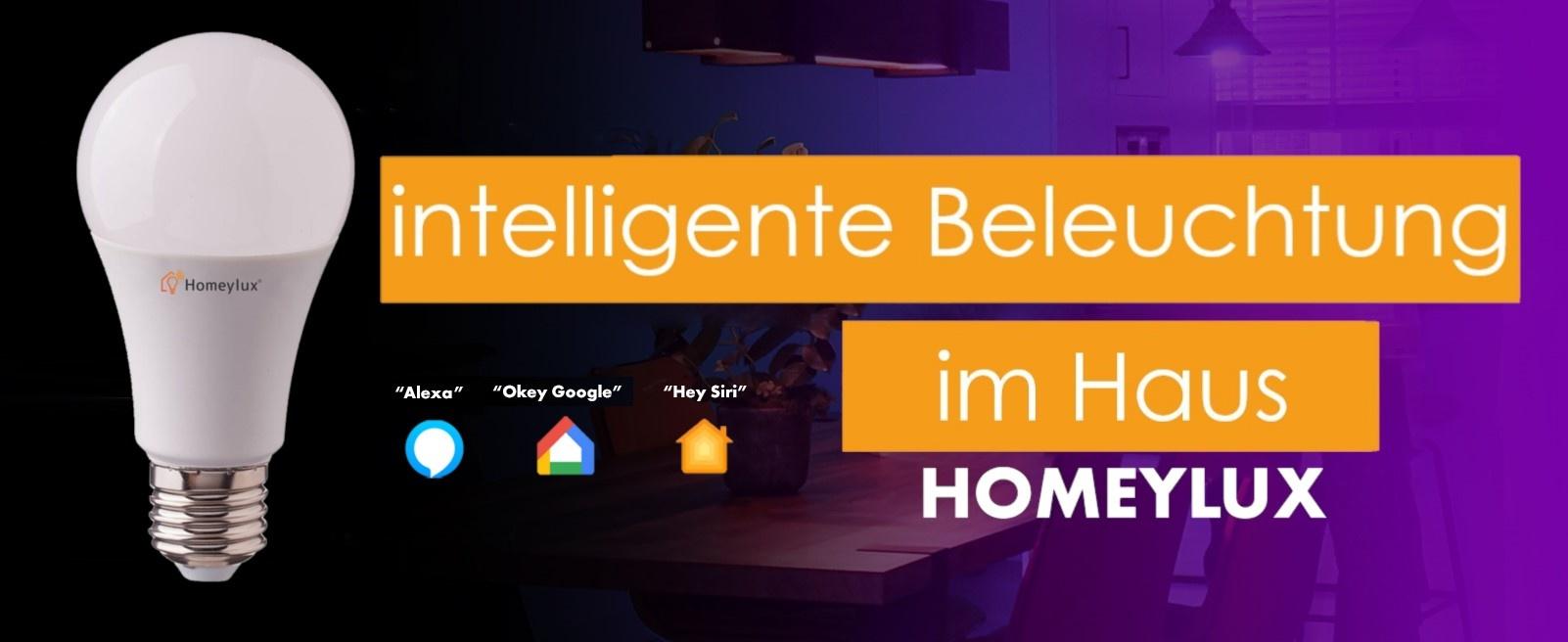Intelligente Beleuchtung im Haus