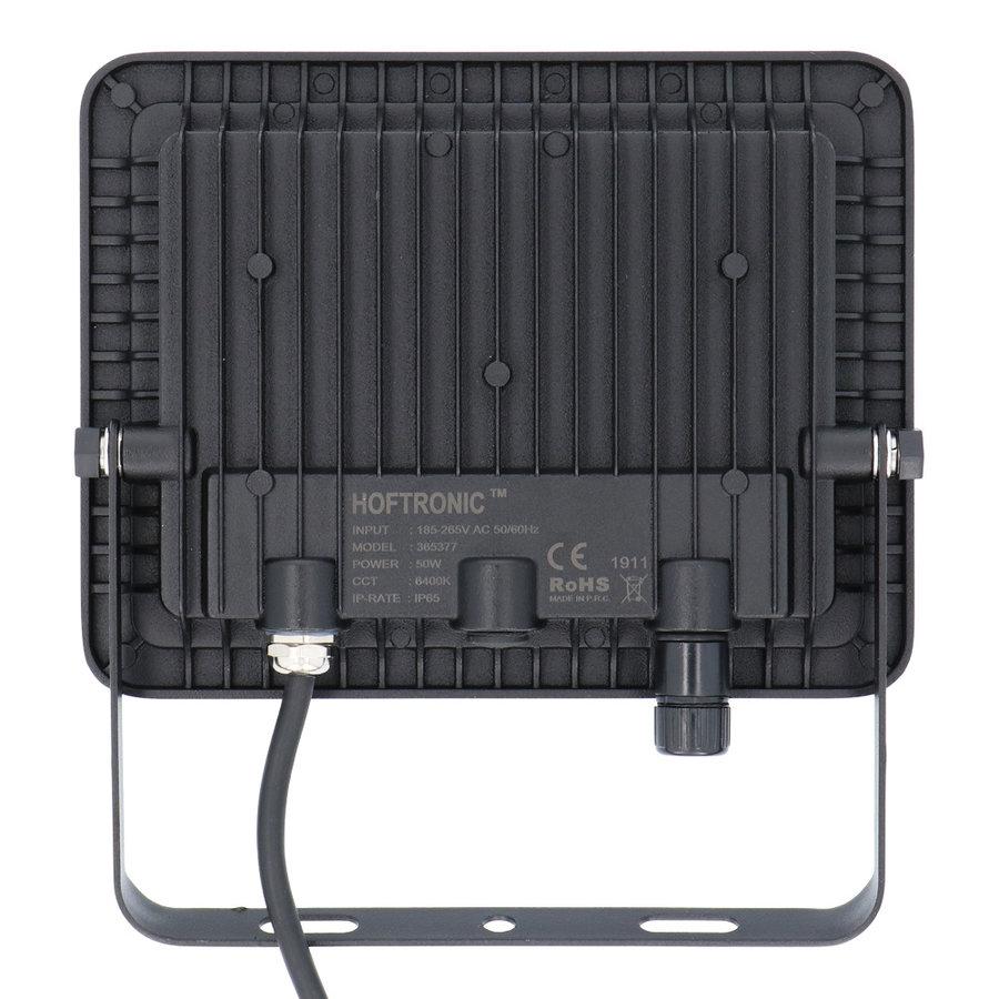 LED Breedstraler 50 Watt 6400K Osram IP65 vervangt 450 Watt 5 jaar garantie