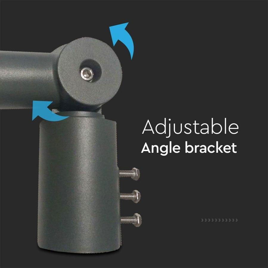 LED Straatlamp adapter aluminium variabel instelbaar geschikt voor 100 en 150 Watt