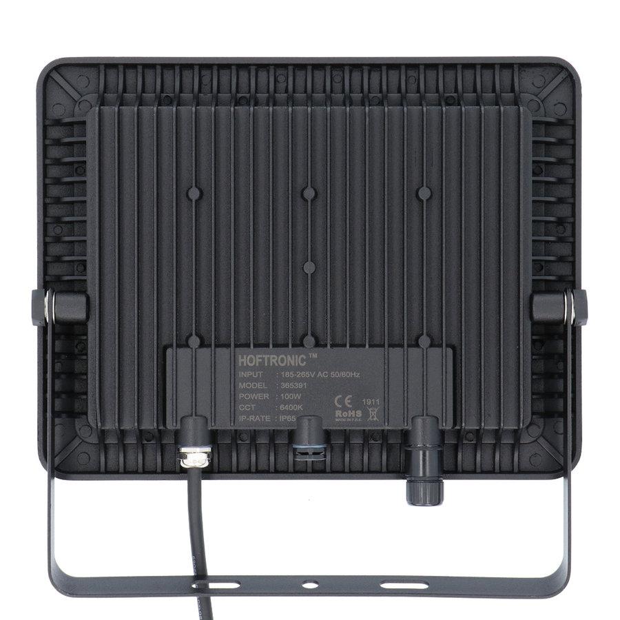 LED Breedstraler 100 Watt 6400K Osram IP65 vervangt 1000 Watt 5 jaar garantie