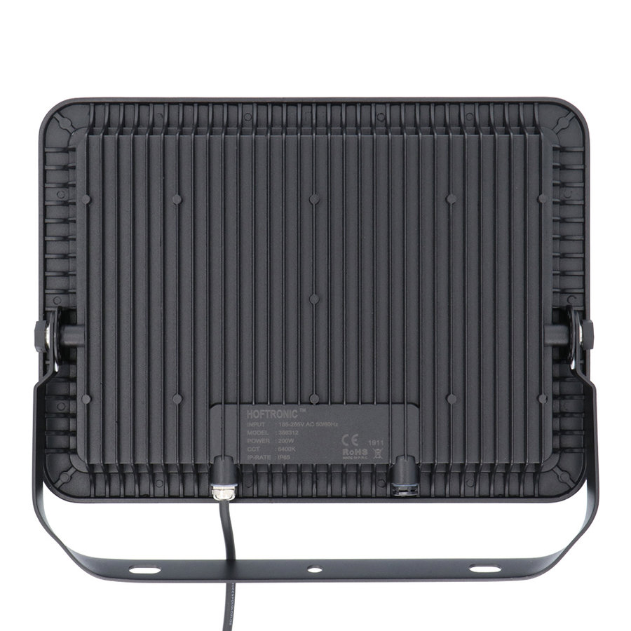 LED Breedstraler 200 Watt 6400K Osram IP65 vervangt 1800 Watt 5 jaar garantie