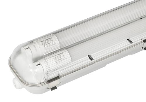 LED TL armatuur 120 cm 6000K IP65 incl. 2x18 Watt LED buizen 3960 Lumen