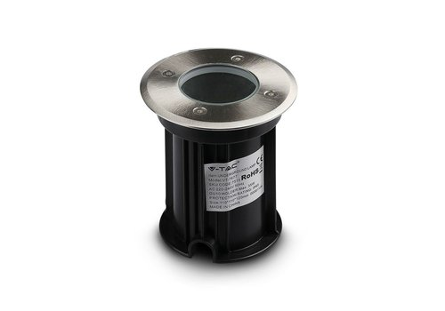 HOFTRONIC™ 3x Ground spot stainless steel round 5W 4000K IP65 water-proof