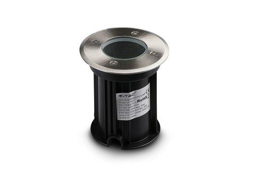 HOFTRONIC™ 9x Grondspot RVS rond 5W 4000K IP65 waterdicht