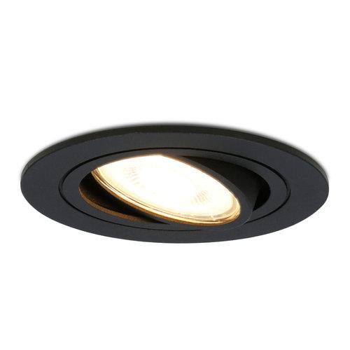 HOFTRONIC™ Dimbare LED inbouwspot Miro 5 Watt 2700K warm wit kantelbaar