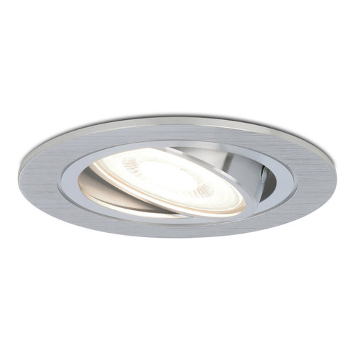 HOFTRONIC™ Dimbare LED inbouwspot Chandler 5 Watt 6400K neutraal wit Kantelbaar