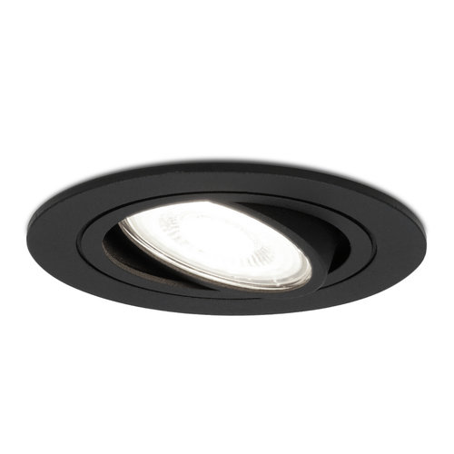 HOFTRONIC™ Dimmable LED downlight Miro 5 Watt 6000K daylight white tiltable IP20