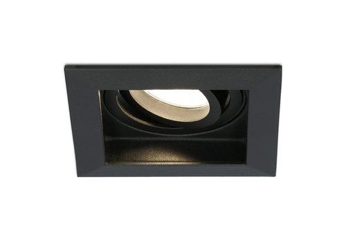 HOFTRONIC™ Dimbare LED inbouwspot Durham 4.2 Watt 2700K zwart kantelbaar IP20