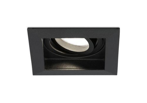 HOFTRONIC™ Dimbare LED inbouwspot Durham 5 Watt 4000K zwart kantelbaar IP20