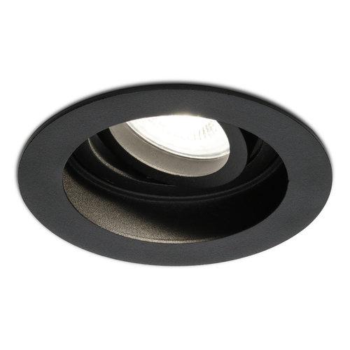 HOFTRONIC™ Dimmable recessed LED spotlight Laredo 5 Watt 4000K black tiltable IP20