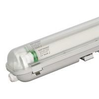 10x LED T8 TL armatuur IP65 150 cm 3000K  2x30W 9600lm 160lm/W