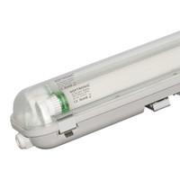 10x LED T8 TL armatuur IP65 150 cm 4000K  2x30W 9600lm 160lm/W