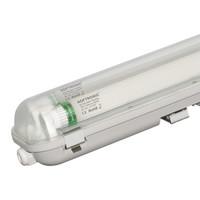 25x LED T8 TL armatuur IP65 150 cm 6000K  2x30W 9600lm 160lm/W