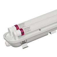 25x LED T8 TL armatuur IP65 150 cm 4000K  2x30W 10500lm 175lm/W