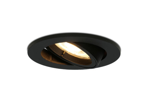 HOFTRONIC™ Dimmable LED downlight Oslo 5 Watt tiltable black 2700K