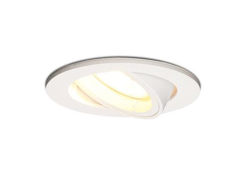 HOFTRONIC™ Dimbare LED inbouwspot Dublin 5 Watt wit kantelbaar 2700K