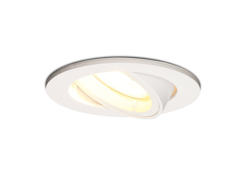 HOFTRONIC™ Dimmable LED downlight Dublin 4.2 Watt tiltable white 2700K