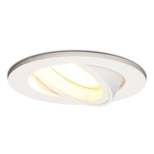 HOFTRONIC™ Dimbare LED inbouwspot Dublin 4.2 Watt wit kantelbaar 2700K