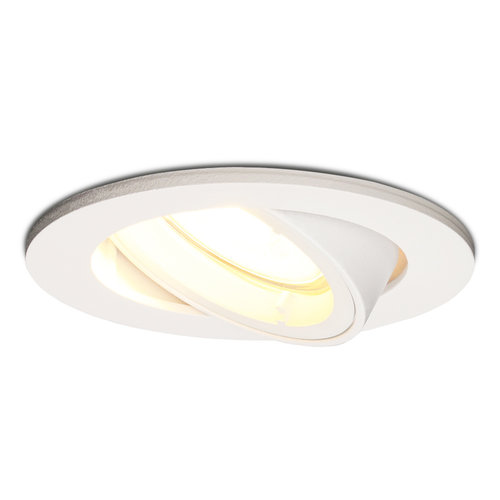 HOFTRONIC™ Dimmable LED downlight Dublin 5 Watt tiltable white 2700K