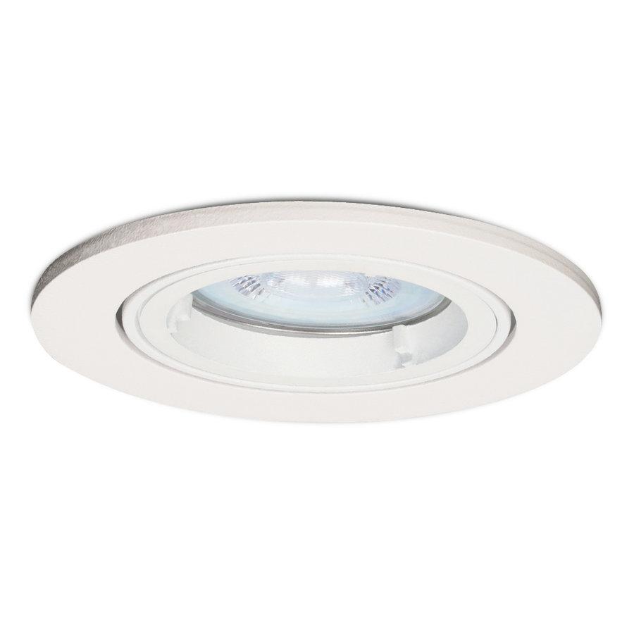 Dimbare LED inbouwspot Dublin 5 Watt wit kantelbaar 2700K