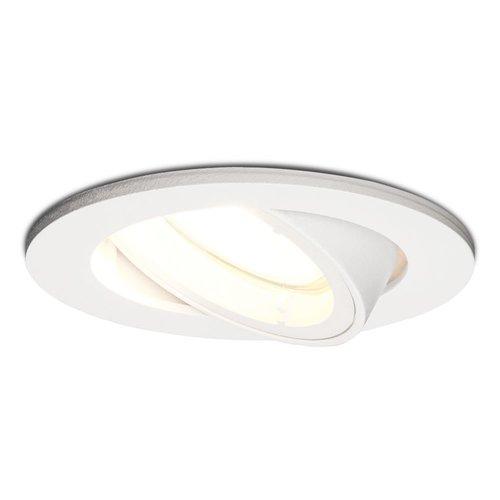 HOFTRONIC™ Dimbare LED inbouwspot Dublin 5 Watt wit kantelbaar 4000K