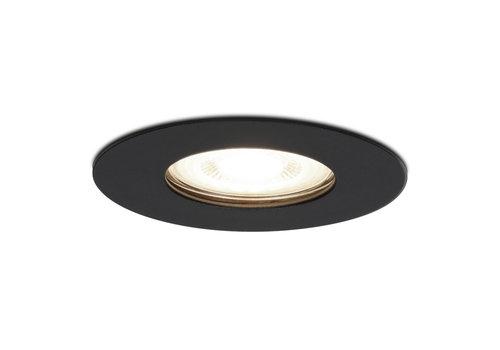 HOFTRONIC™ Dimmable LED spotlight Bari black GU10 5 Watt 4000K IP65 splashproof