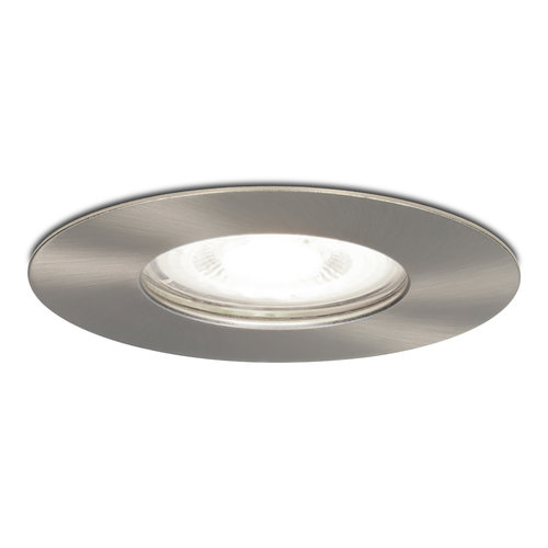 HOFTRONIC™ Dimmable LED spotlight Bari stainless steel GU10 5 Watt 6000K IP65 splashproof