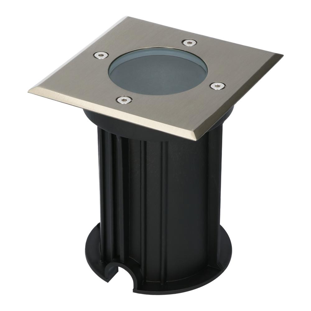 Ramsay dimbare LED grondspot vierkant RVS excl. lichtbron IP67 waterdicht 3 jaar garantie