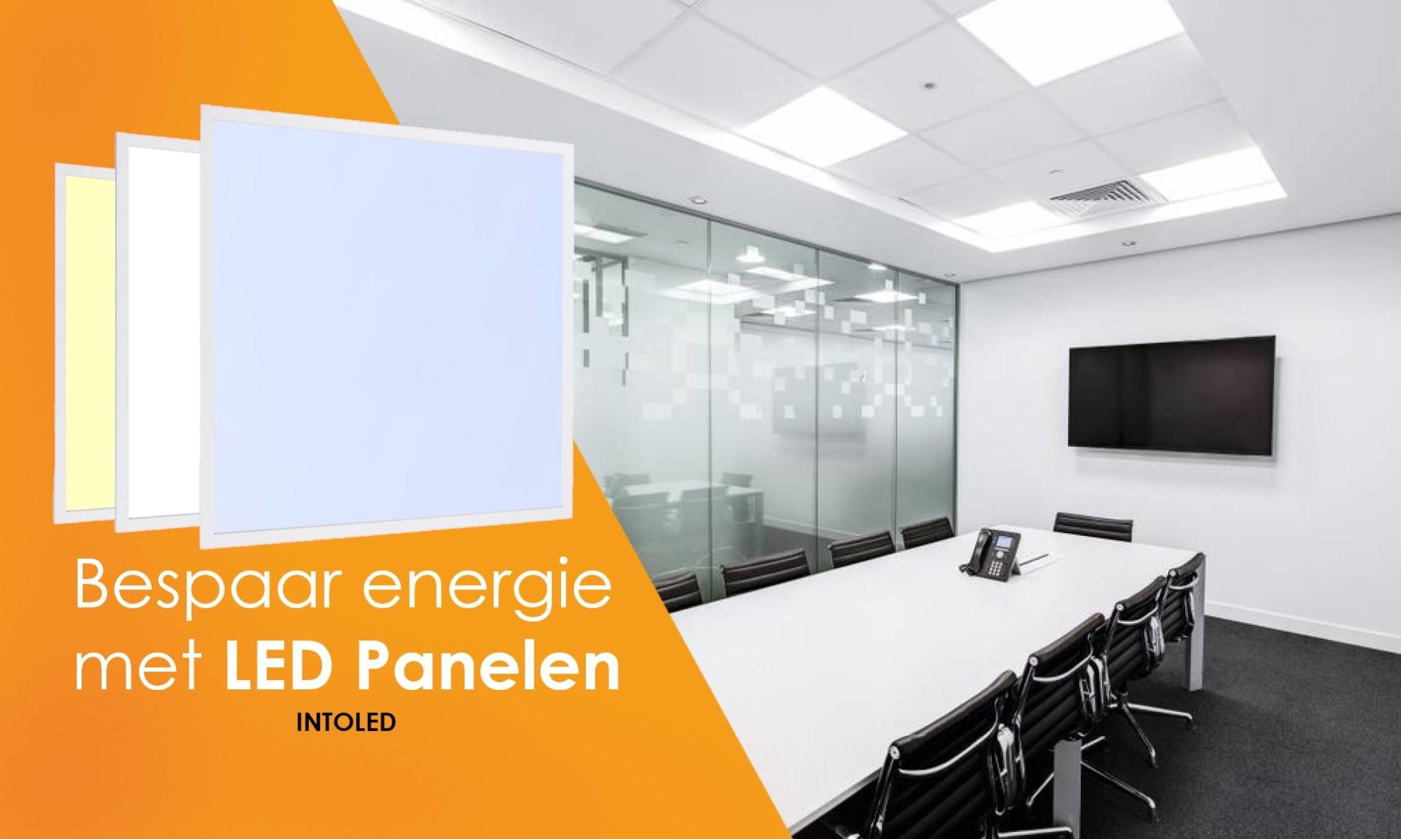 Waarom kiezen voor LED panelen?