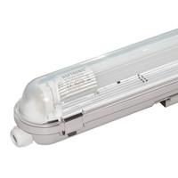 25x LED T8 TL armatuur 120 cm IP65 waterdicht 18W 2340lm 130lm/W 4000K - neutraal wit - koppelbaar - EIA subsidie geschikt