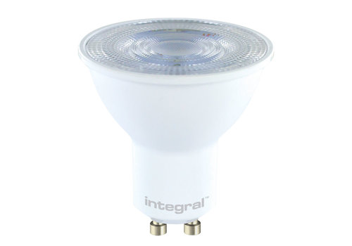 Integral GU10 LED spot 4.2 Watt Dimbaar 2700K warm wit (vervangt 50W)