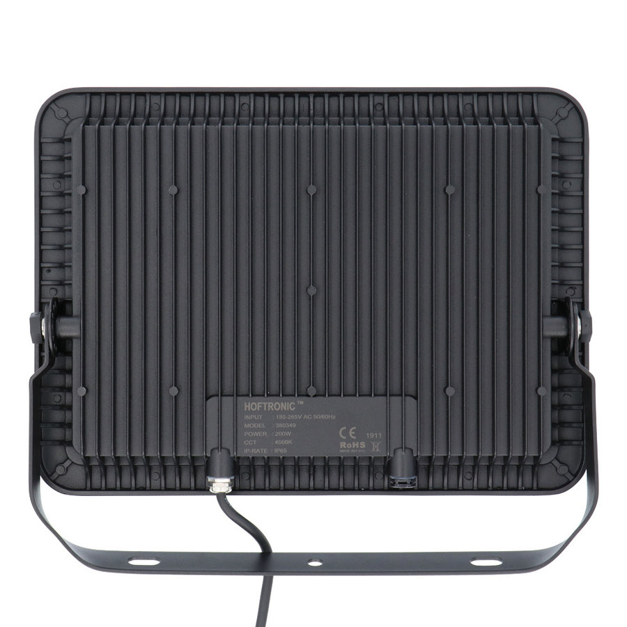 LED Breedstraler 200 Watt 4000K Osram IP65 vervangt 1800 Watt 5 jaar garantie V2