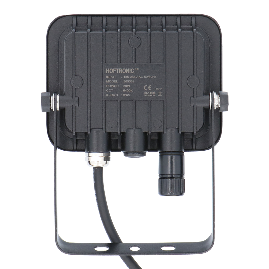 LED Breedstraler 20 Watt 6400K Osram IP65 vervangt 180 Watt 5 jaar garantie V2