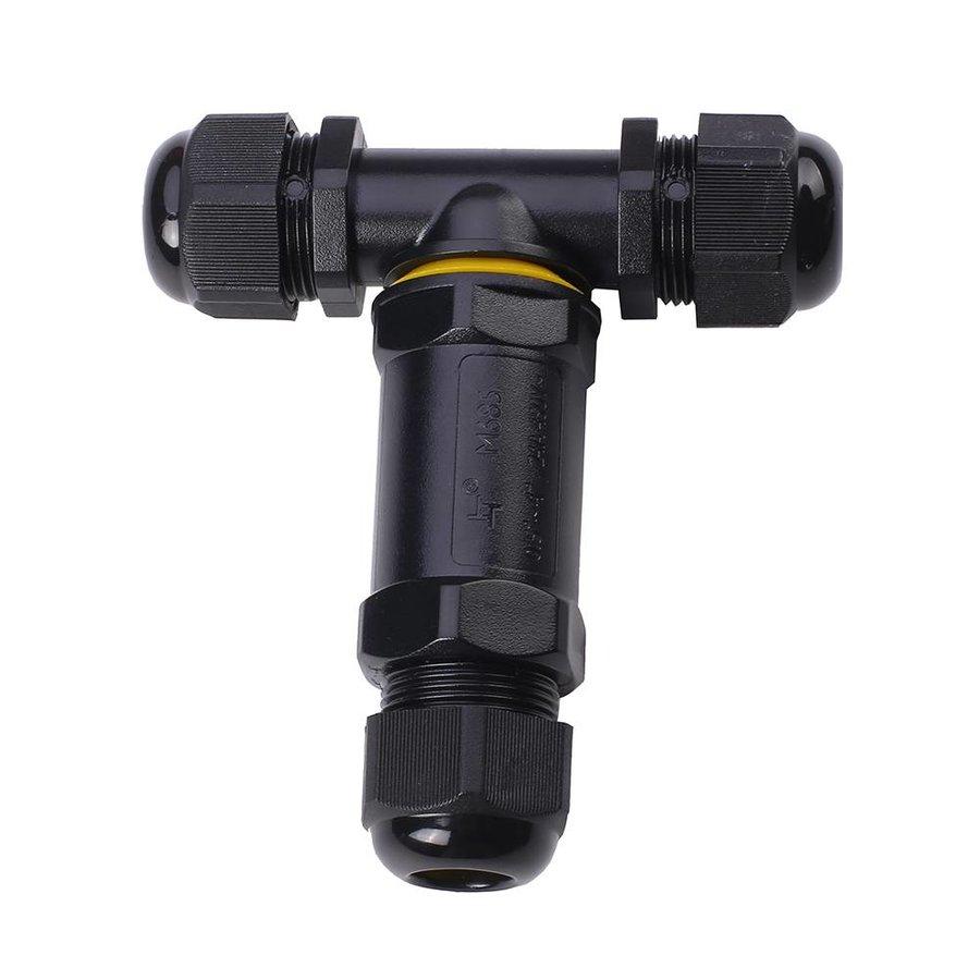 25x Kabelverbinder T-vorm IP68 waterdicht