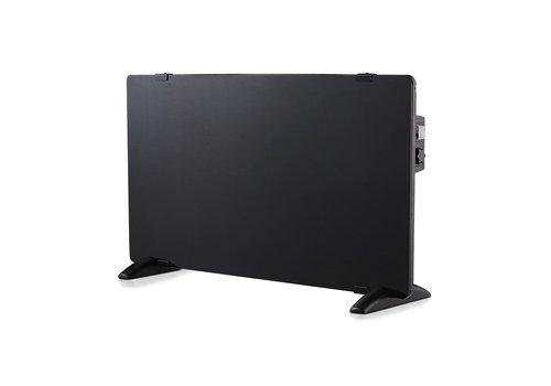 V-TAC Glass Panel Heater - Electric heater - Panel Heater - Portable Heater - Black
