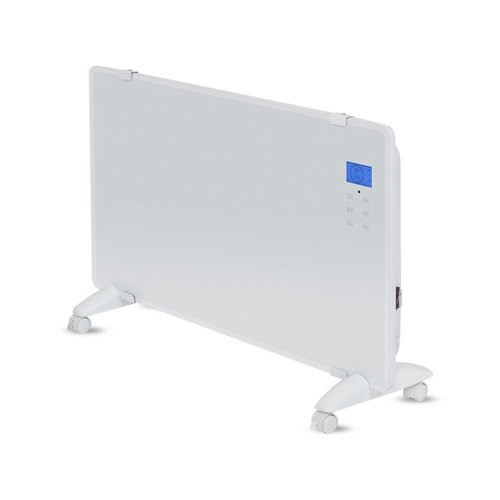 V-TAC Glass Panel Heater - Electric heater - Panel Heater - Portable Heater - display heater - White