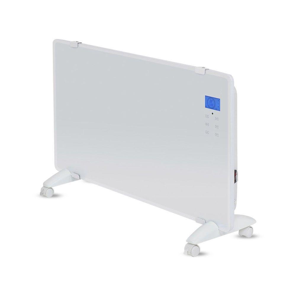 Glazen Paneelverwarmer - Elektrische kachel - Panel Heater - Paneelverwarming - Portable Heater - Di