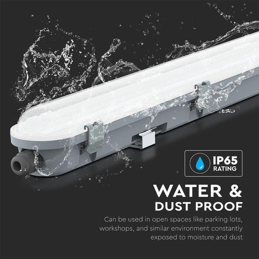 IP65 LED armatuur 150 cm 48W 5760lm 4000K koppelbaar